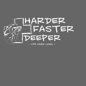 Harder Faster Deeper in White