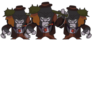 gorilla gang mitglied mafia gangster
