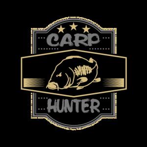 carp hunter karpfen jäger geschenk schrift bild