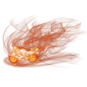 Flame Biker