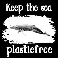 Wal Rette den Ozean plastikfrei Buckelwal Geschenk