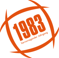 Jahrgang 1980 Geburtstagsshirt: Hervorragender Jahrgang 1983