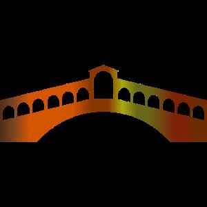 Rialto Brücke Venedig Rialtobrücke Italien Gondel