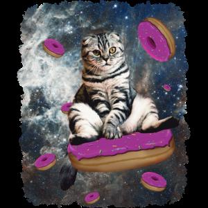 Weltraum Katze
