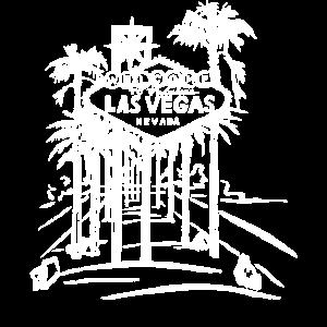 Las Vegas Strip Berühmtes Schild Vintage Souvenir