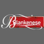 HANBURG. Blankenese-Schild mit Initial