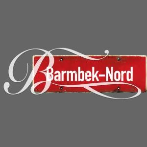 Barmbek-Nord Schild mit Initial | Hamburg