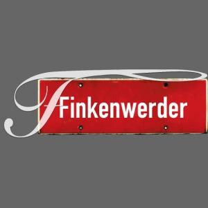 Finkenwerder Schild mit Initial | Hamburg