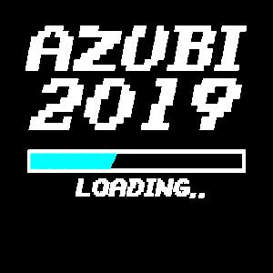 Azubi 2019 Loading Ladebalken Pixel Ausbildung