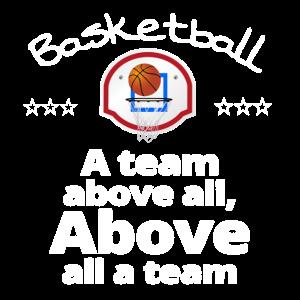 Teamshirt Basketball