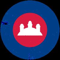 Kambodscha Luftfahrt-Cockade-Effekt