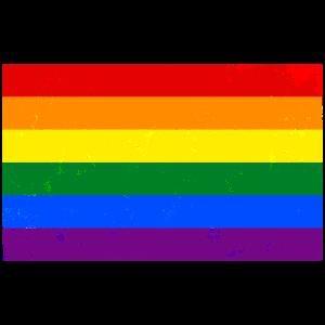 LGBT-Flaggenweinleseeffekt
