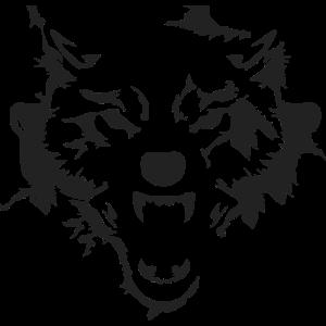 Wolf Kopf Hund Gesicht