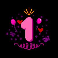 Geschenk zum 1. Geburtstag für die Mädchen