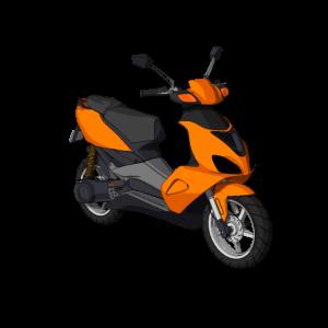 Motorroller Moped Motorrad - fahren cool