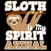 Sloth Faultier Chillen Entspannen Faul Geschenk