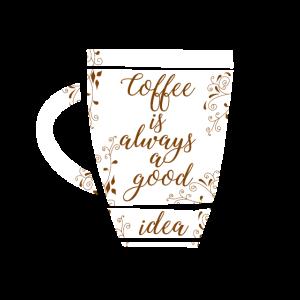 Kaffee ist immer eine gute Idee, Geschenkidee