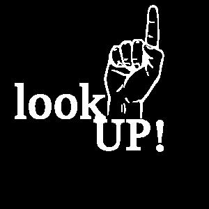 look up shirt