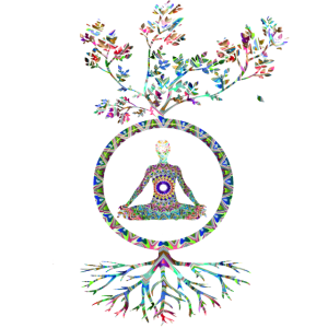 Drittes Auge Mandala Psytrance Meditation Geschenk