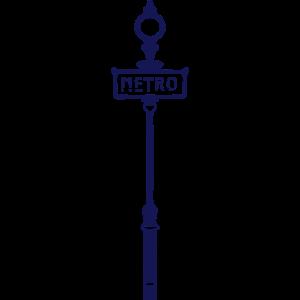 U-Bahn-Station metropolitane Anzeige 1