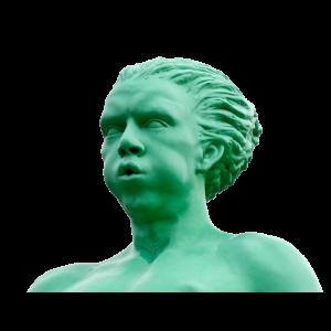 Grüne Figur