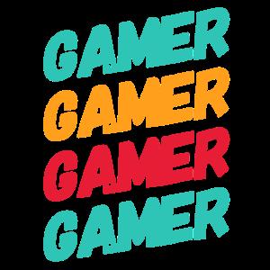 Gamer Zocken zocken Geschenk Wort gaming