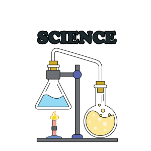 I Love Science - Premium Design