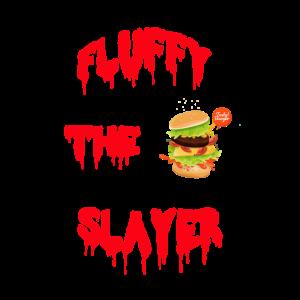 Fluffy der Burgerliebhaber t-shirt