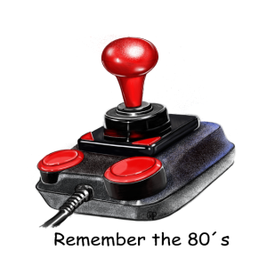 Retrojoystick - Remember the 80s by Raphaela Pohle