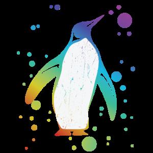 Pinguin Shirt - Pinguin T-Shirt farbig Geschenk