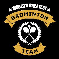 Badminton Team Verein Turnier Schönes Geschenk