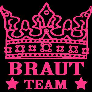 Braut Team - JGA - Junggesellinnenabschied