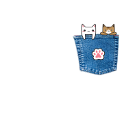 kitty Pocket - Katzen Tasche für Katzenliebhaber