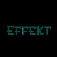 Effekt in grün