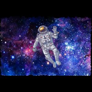 Weltall Astronaut