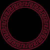 meander circle / Meander Kreis (A, 1c)
