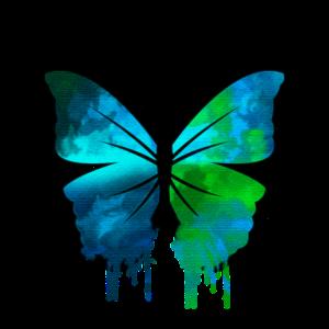 Schmetterling für Watercolor Fans