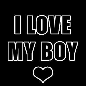 Ich liebe meinen Jungen