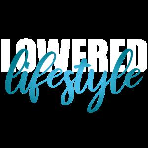 Lowered Lifestyle Tuning - weiß türkis