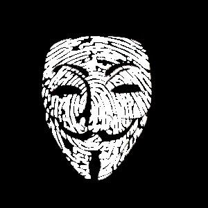 wikileaks Anonymus Hacker Maske