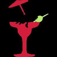 Junggesellenabschied sexy Mädchen Cocktail