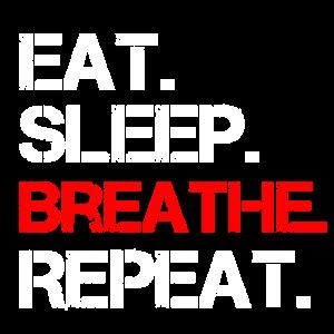 Atmen Atmung Spruch Luft Yoga
