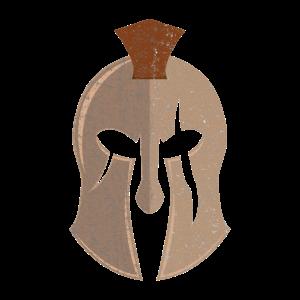 Spartan Helm Geschenk