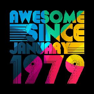 1979 Geburtstag Geschenk Retro Geschenkidee