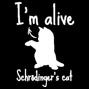 schrödingers katze lustig Geschenk Wissenschaft