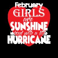 Februar Sonnenschein Hurrikan Mädchen Geschenk