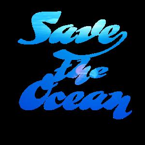 Schütze die Ozeane Geschenk Shirt