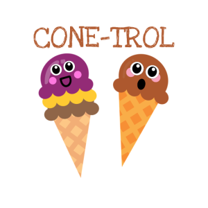 Out Of Cone trol Cute Ice Cream Pun