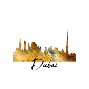 Dubai Skyline bunt