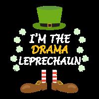 Drama Leprechaun St Patricks Day Outfit